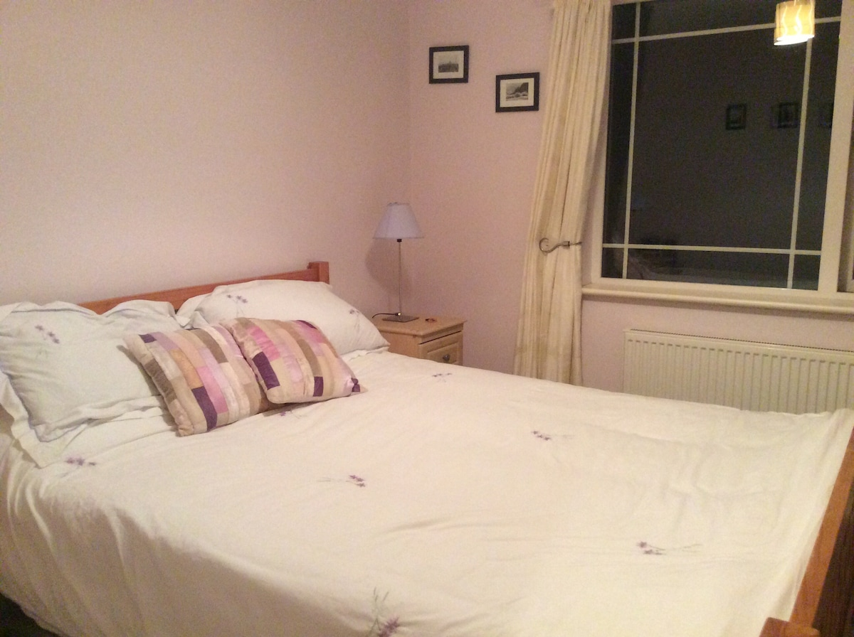 Double bed room in our family home