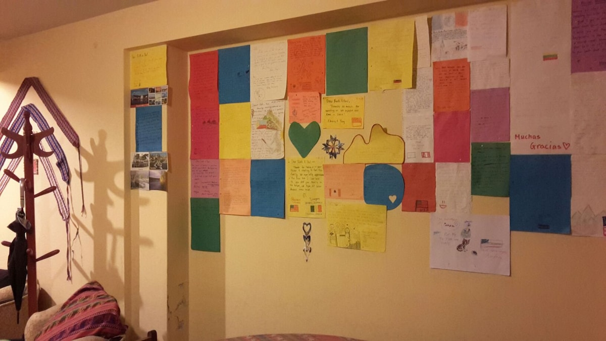 My wall of pride