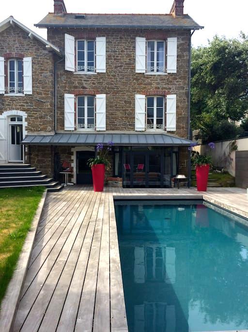 Maison de charme en bord de mer - St-Malo