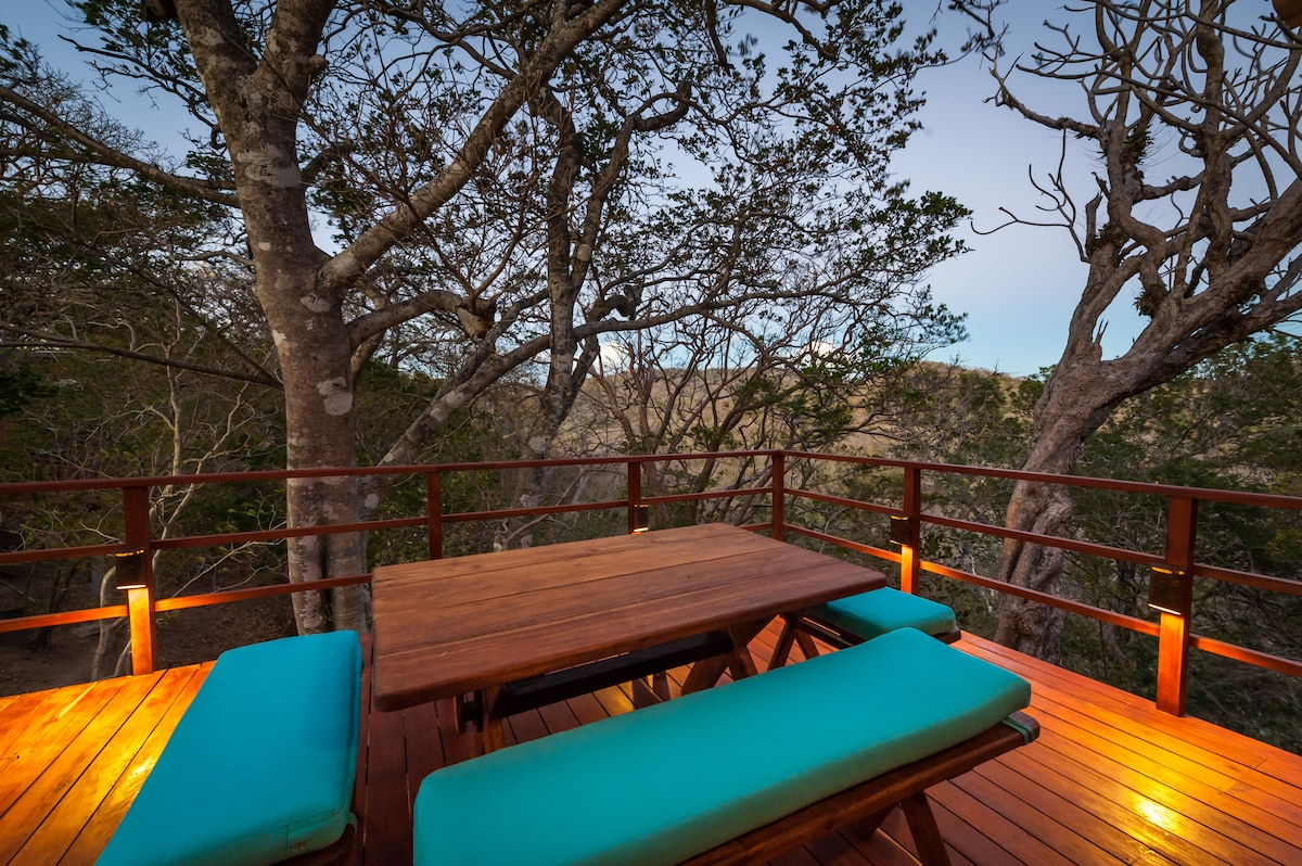 Your private outdoor treetop deck