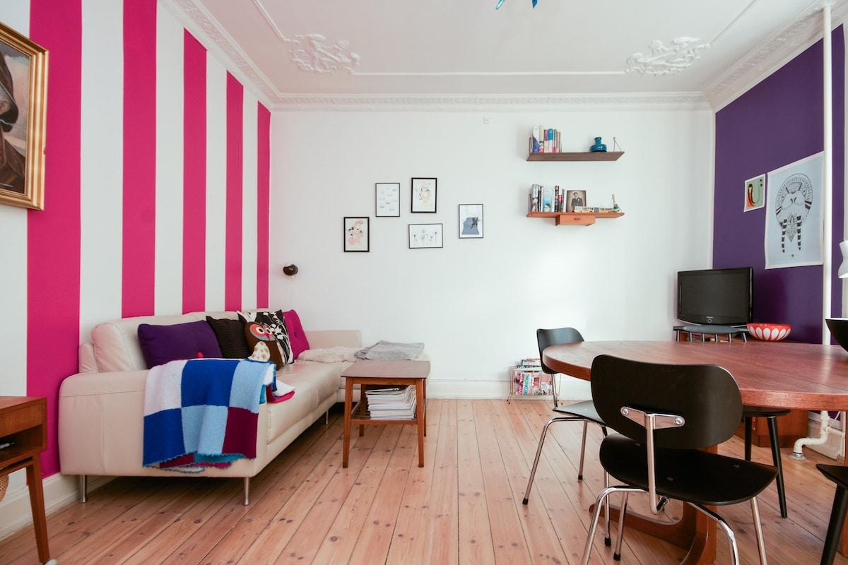 Cosy apartment with balcony