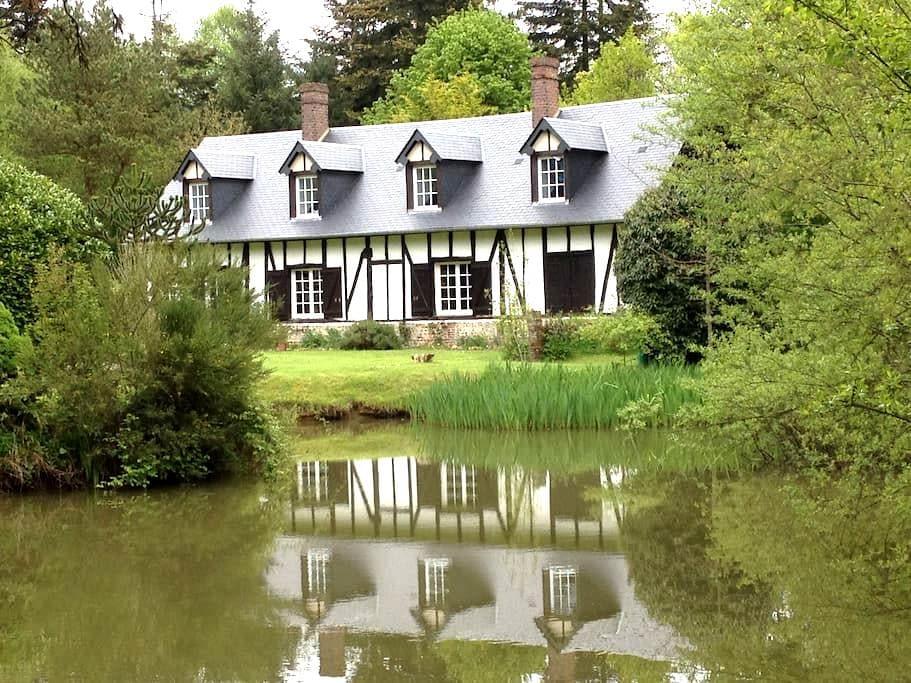 cottage normand, en pleine nature, à 1H de la mer - Touquettes