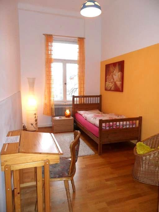 Romantisch, lauschig, hofseitig - Leipzig - Apartment