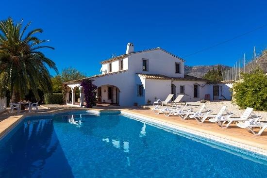 Villa Colina en Benisssa para 10