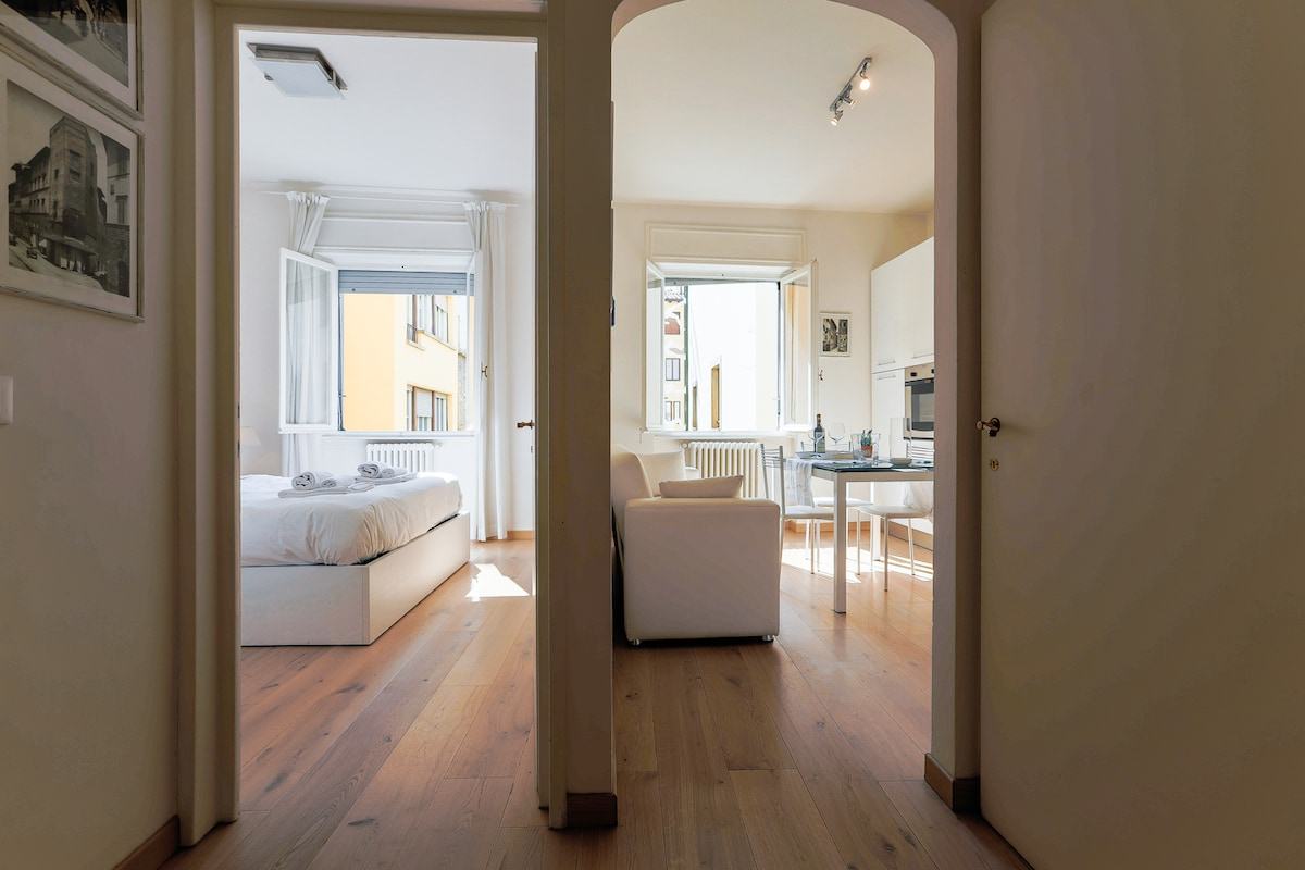 Pontevecchio view 2BD up to 5guests