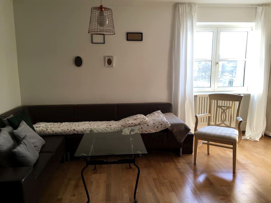 Super bequeme Couch :) - Nürnberg - Lägenhet