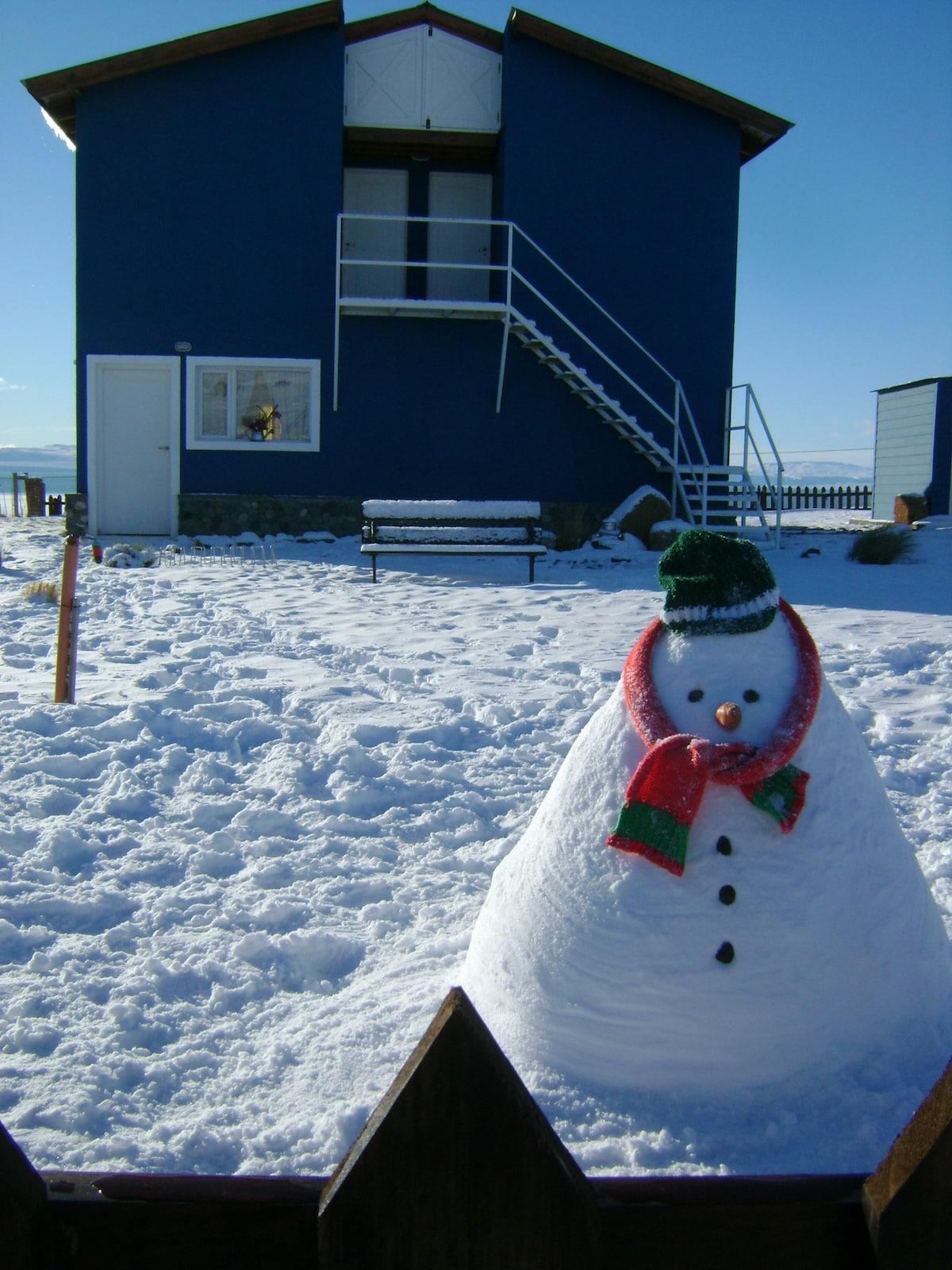 El helado invierno 2012.