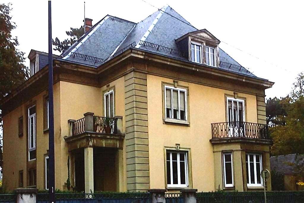 Chambres dans maison de maître. - Mulhouse - ที่พักพร้อมอาหารเช้า