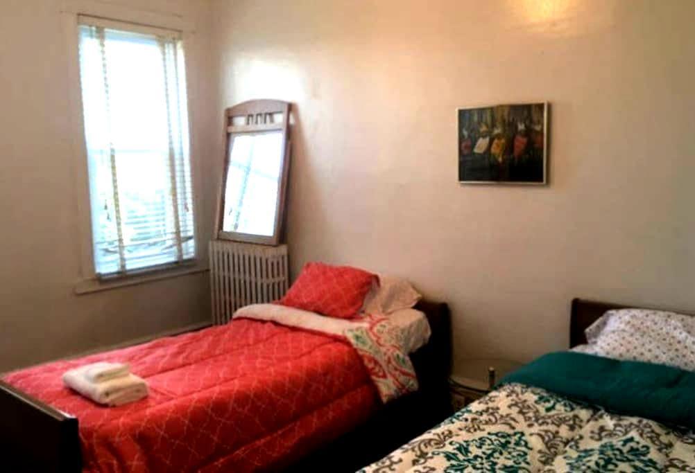 Retro Private Room for 2 - Philadelphia - Wohnung