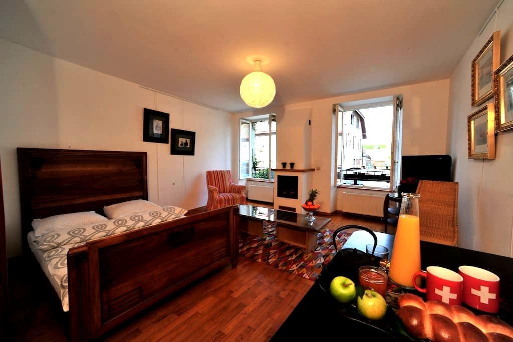 Appartement 2p dans le Vieux-Bourg - Saint-Prex