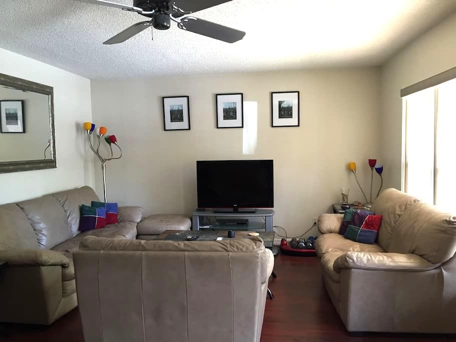Quiet private room - Daytona Beach - Departamento