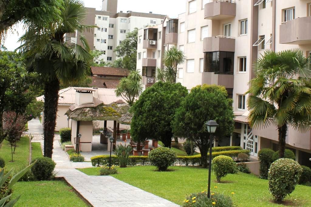 Apartamento com Ar Condicionado em Bento Gonçalves - Bento Gonçalves - Apartment