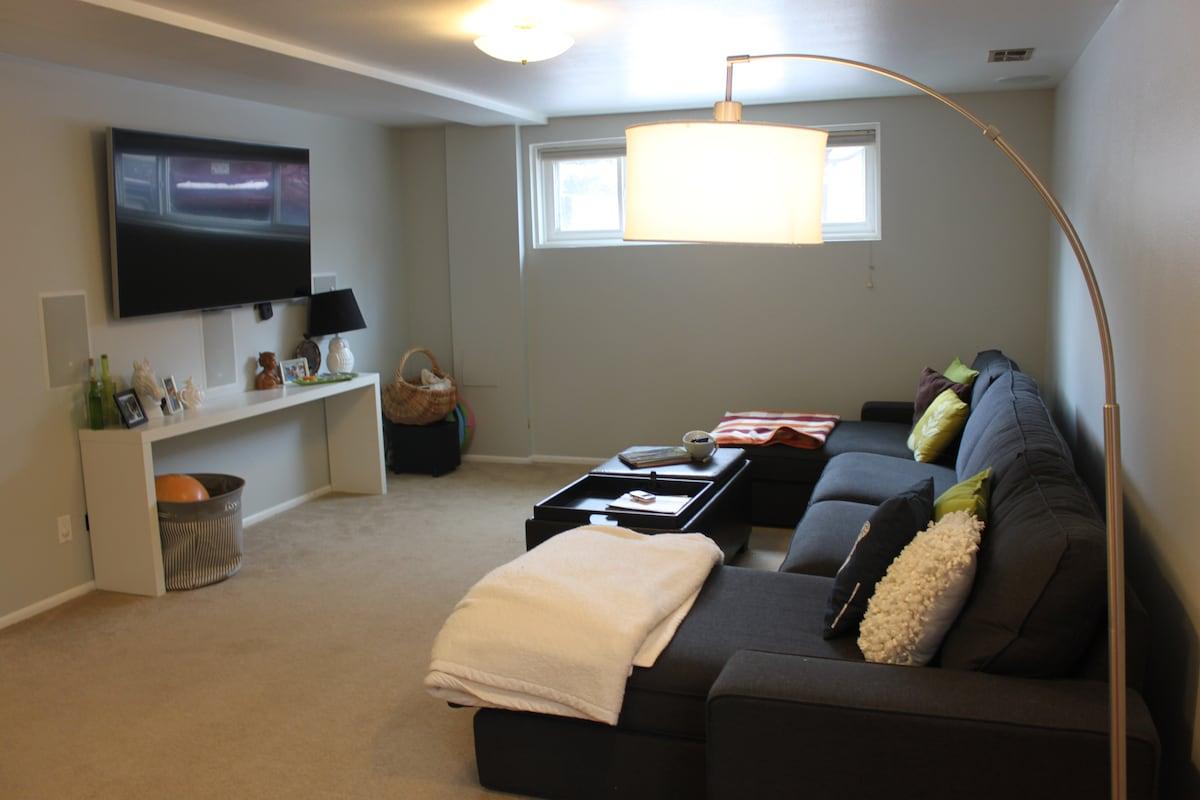2 Bedroom With Rec Room!