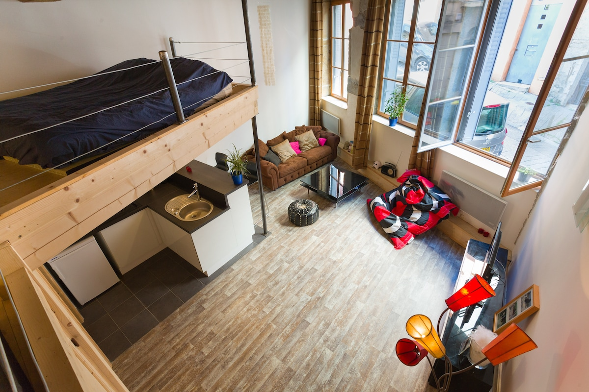Nice flat in Old Lyon - St Georges
