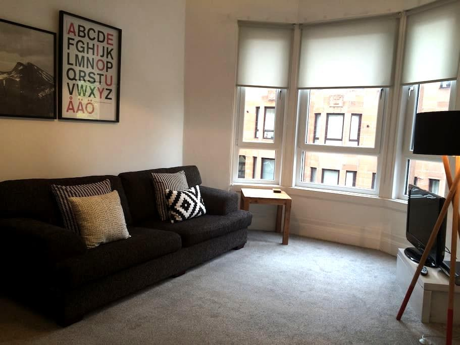 Comfortable, contemporary  flat - Glasgow - Apartamento