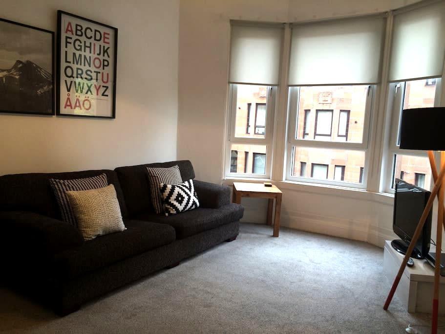 Comfortable, contemporary  flat - 格拉斯哥 - 公寓