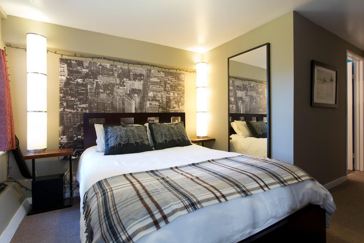 Stylish 1 bedroom near the GG Park