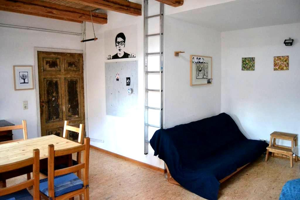 Single room-apartment in the attic - Halle (Saale) - Appartement