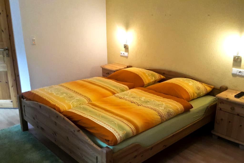 Doppelzimmer (1) Ponderosa - Blankenheim - Bed & Breakfast