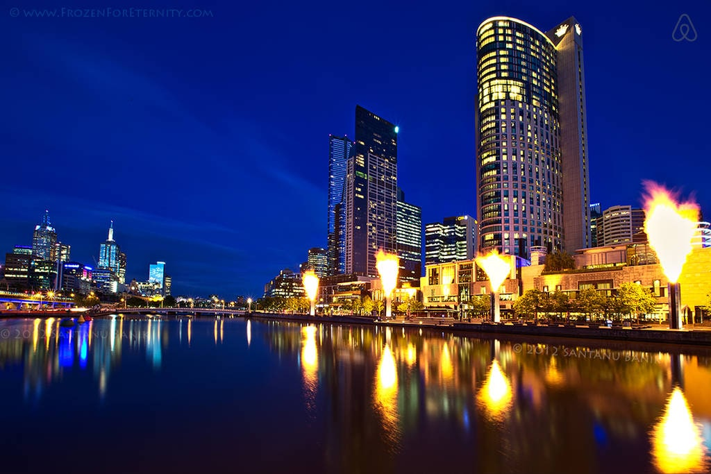 Melbourne City Apt on the River