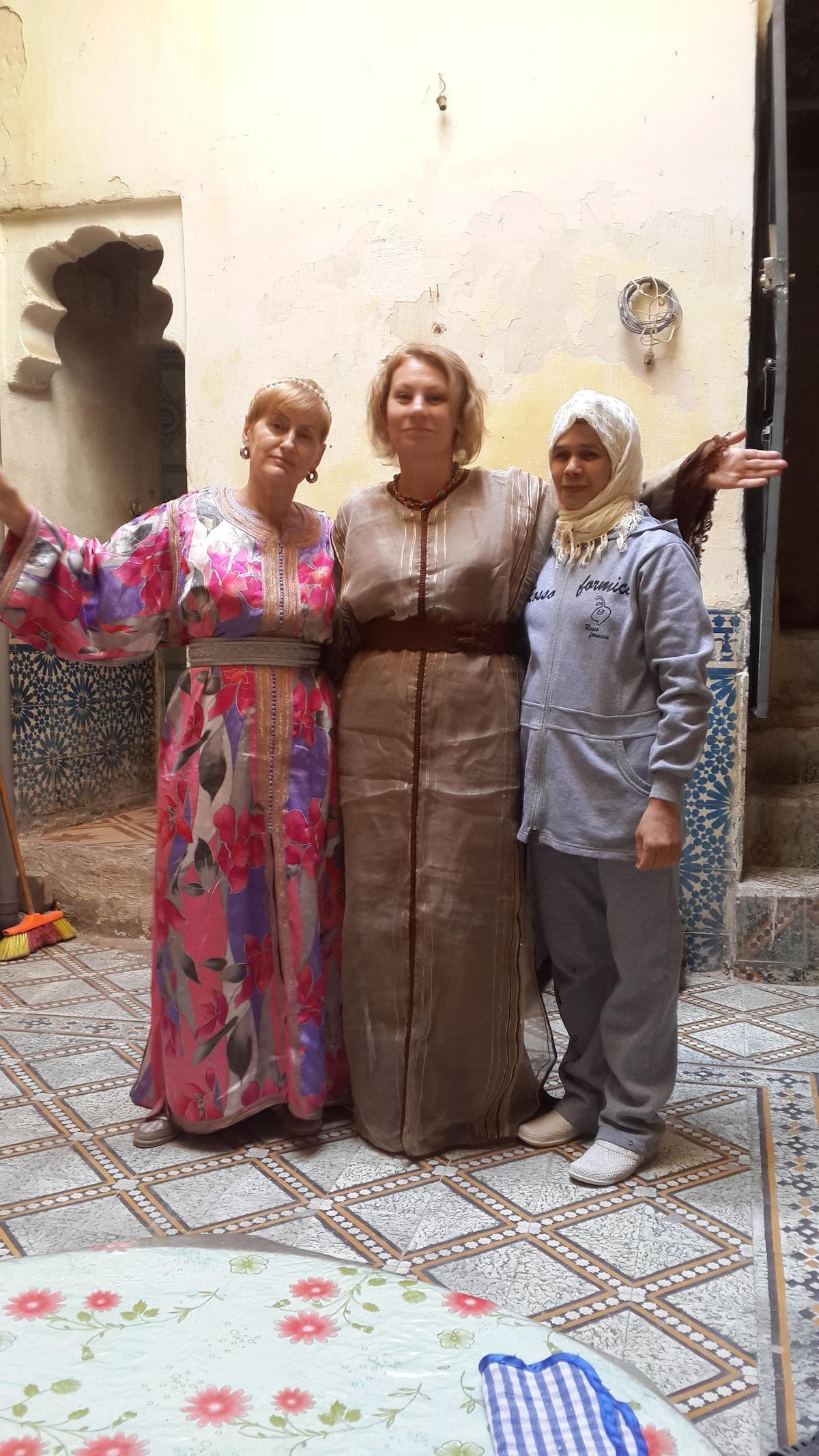 family house inside medina