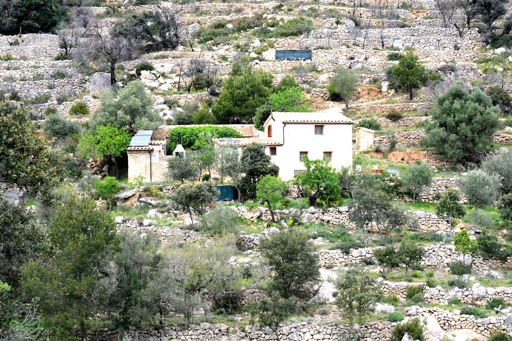 Remote mountain cottage above Costa Daurada - Rasquera - House