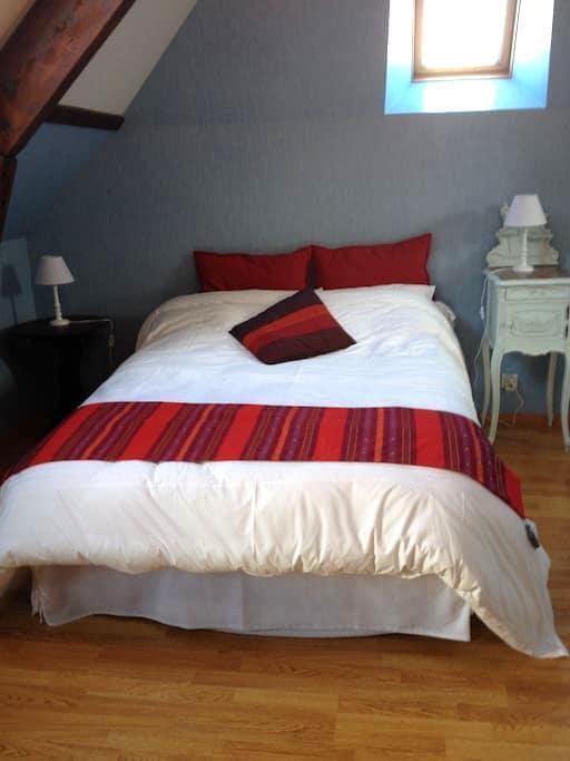 3 chambres indépendantes, sdb, WC - Caen - Bed & Breakfast
