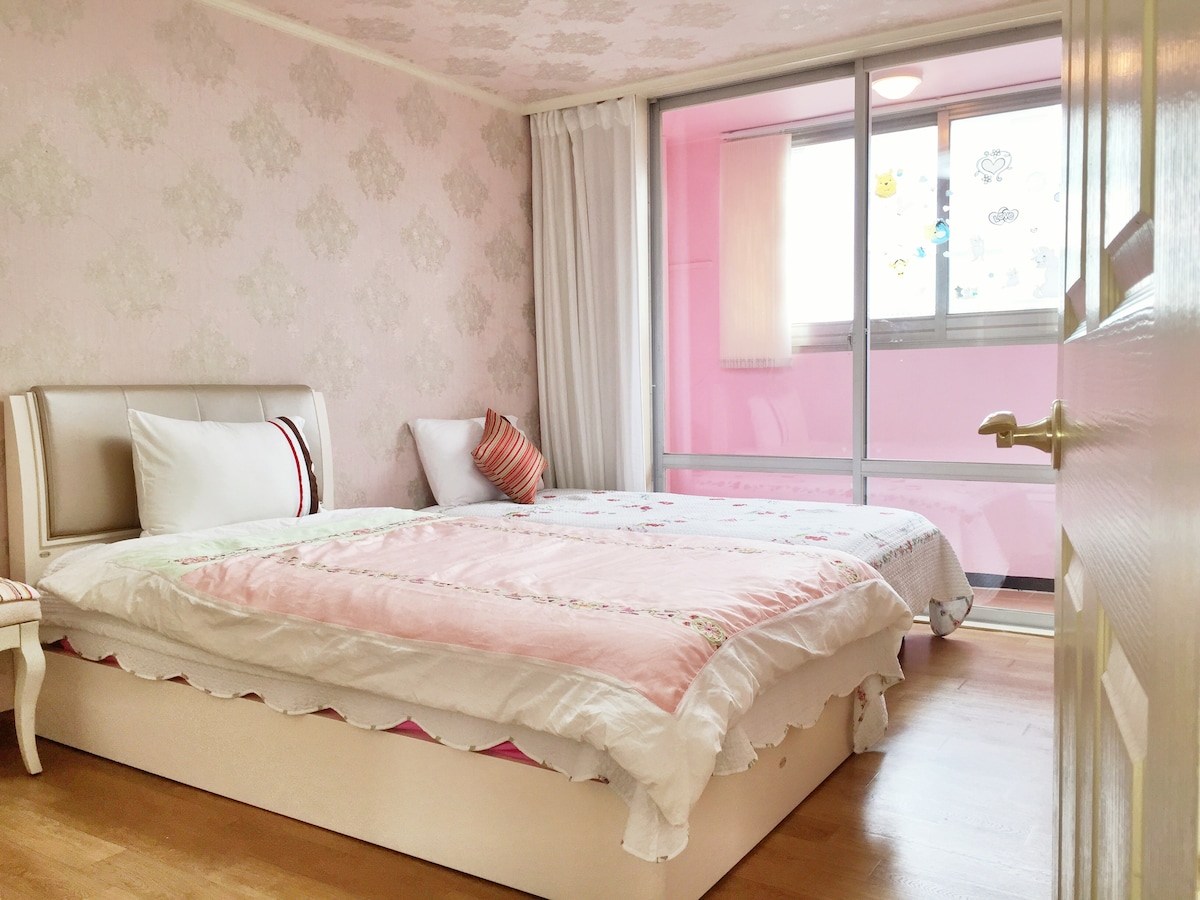 Your room (twin bed)