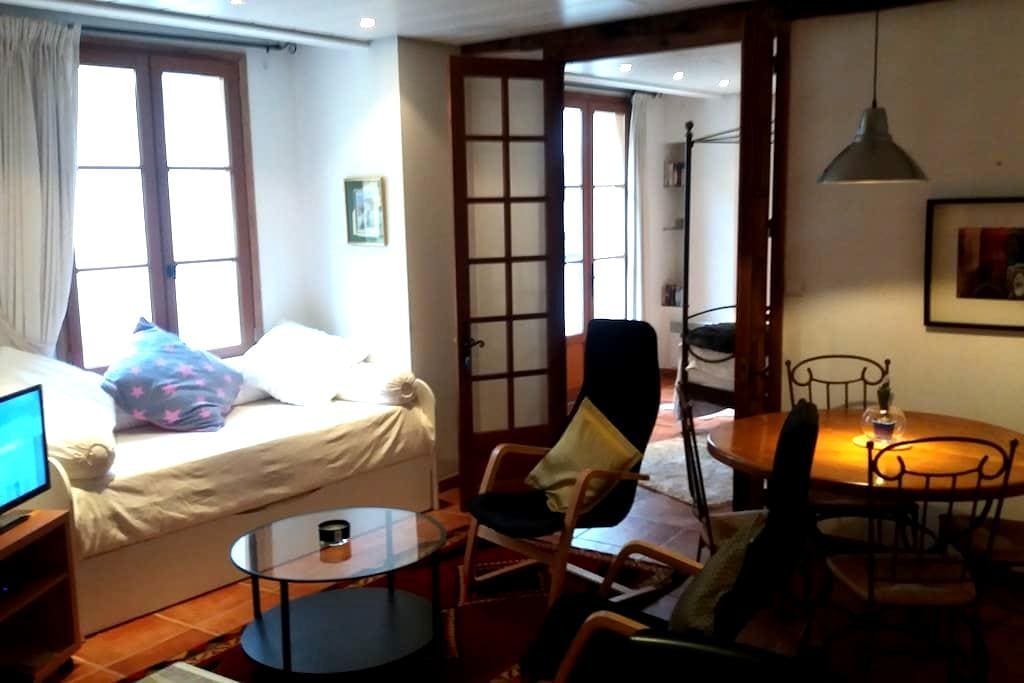 Bijou apartment off village square - Auberre-sur-Dronne - Apartamento