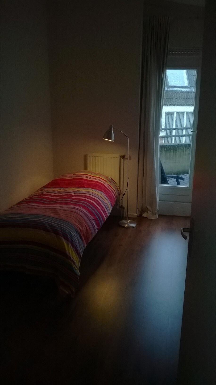 Tweede slaapkamer voor 1 persoon