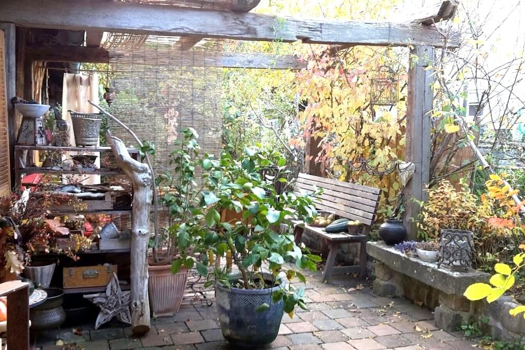 Kleinod bei Bamberg  - HausEtage+Garten+Terrasse - Litzendorf - Rumah