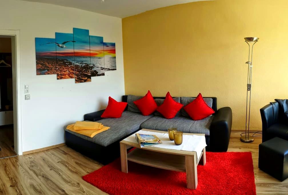 Exklusive Ferienwohnung, WLan, Top - Wangerland - Apartament