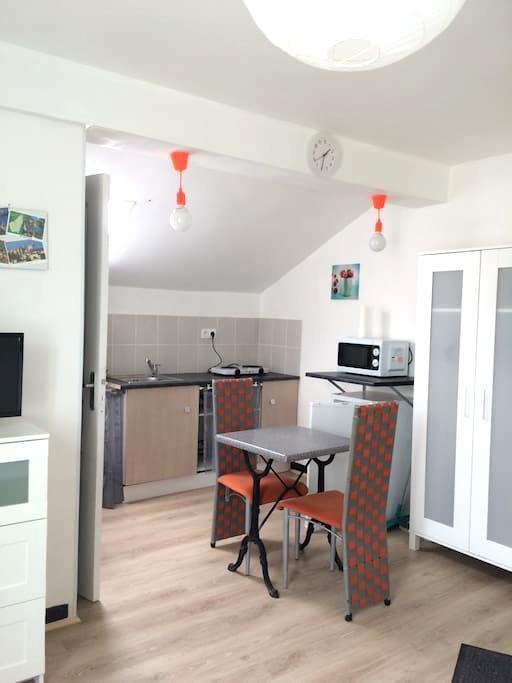 Joli studio pour visiter l'Ardèche - Le Teil - Apartment