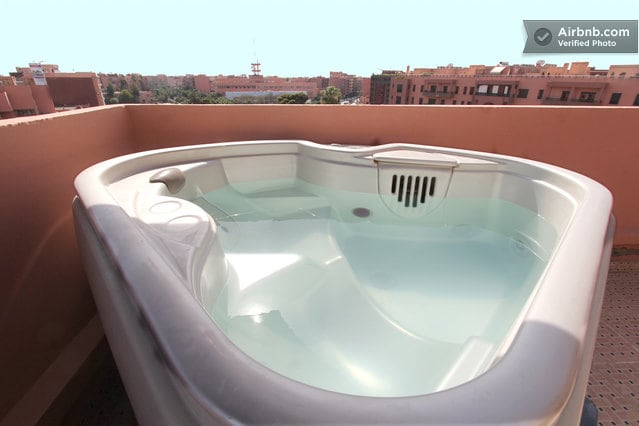 Plazza Gueliz -Great view & hot-tub