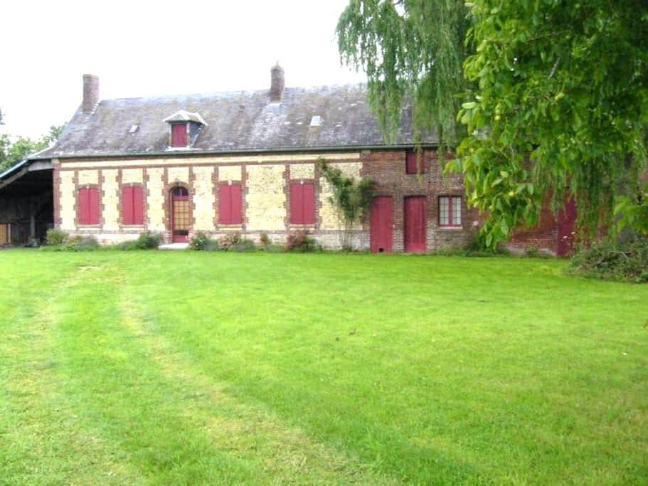 Gîte 6 personnes à 90km de Paris - Ernemont la villette - บ้าน