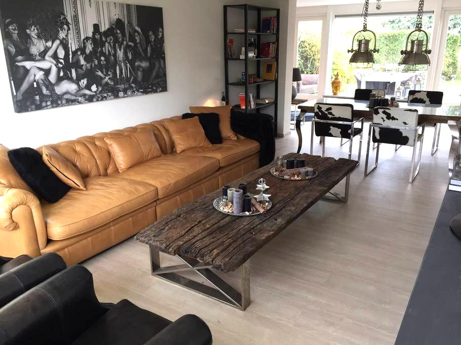Spacious private guesthouse inc garden near centre - Apeldoorn - House