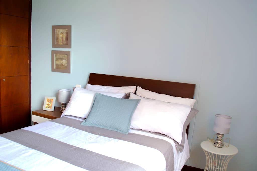 GAUSS. Cozy Bedroom near LlerasPark - Medellín - Wohnung