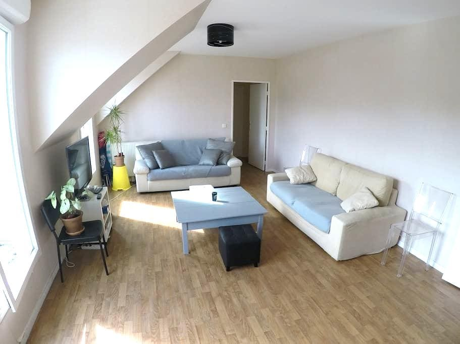 Apartment 100 m2, F4 balcony near Paris. - Le Plessis-Robinson