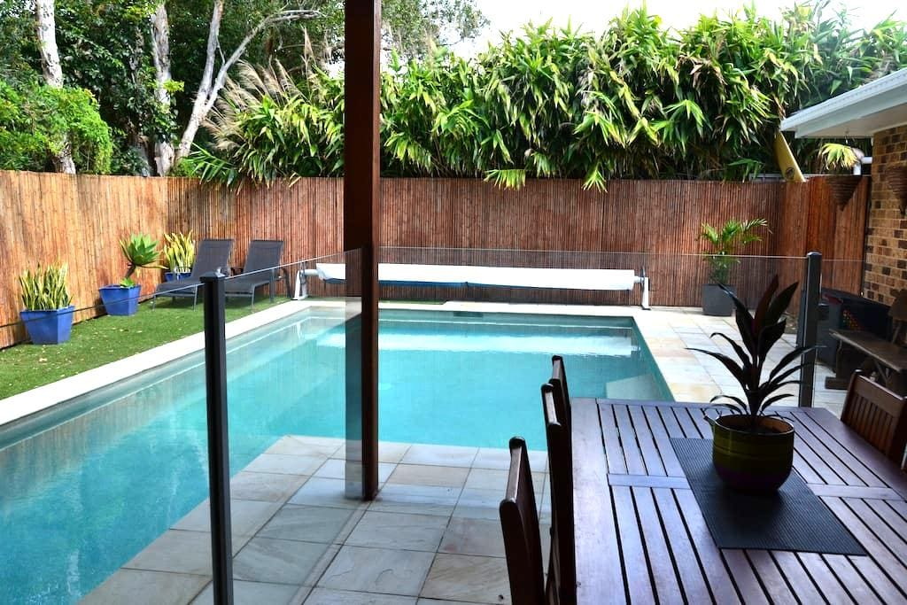 The PoolHouse-Total Privacy for Two - South Golden Beach