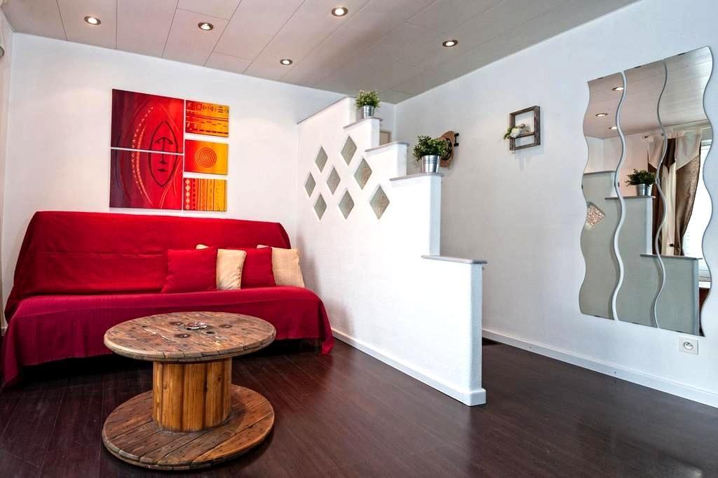 Bel appartement chaleureux/lumineux - Rouffach