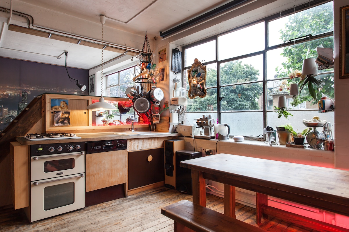 Cool Shoreditch / Hoxton loft!