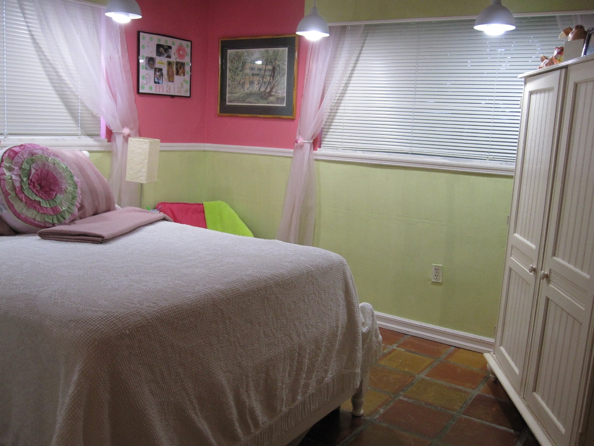 This is the Maia Room Full size bed.