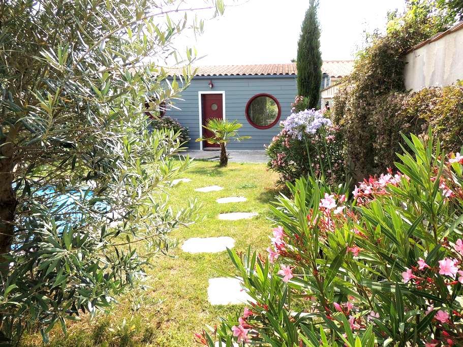 Nid douillet en fond de jardin - La Rochelle - Daire