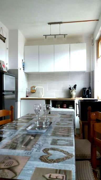 Studio dans une ambiance très cosy - Criel-sur-Mer - Wohnung