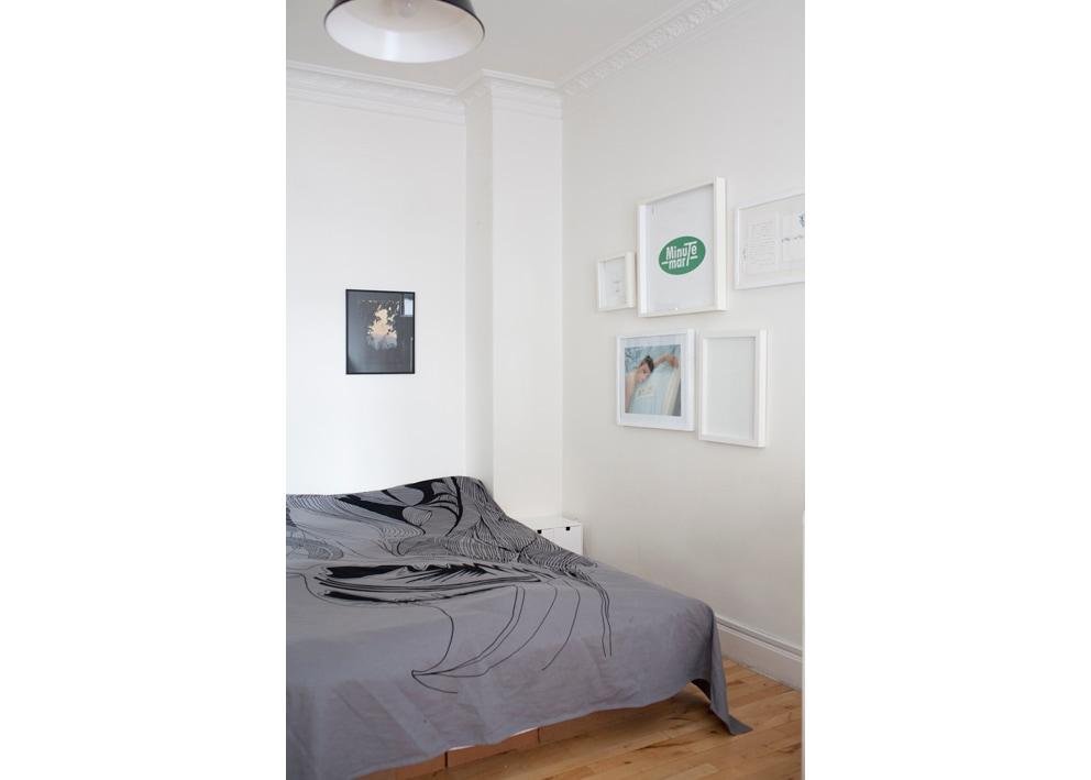Bedroom. 160 cm doublebed.
