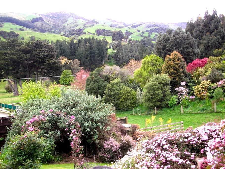 Artistic Tranquil Retreat, AKAROA - Takamatua - Bed & Breakfast