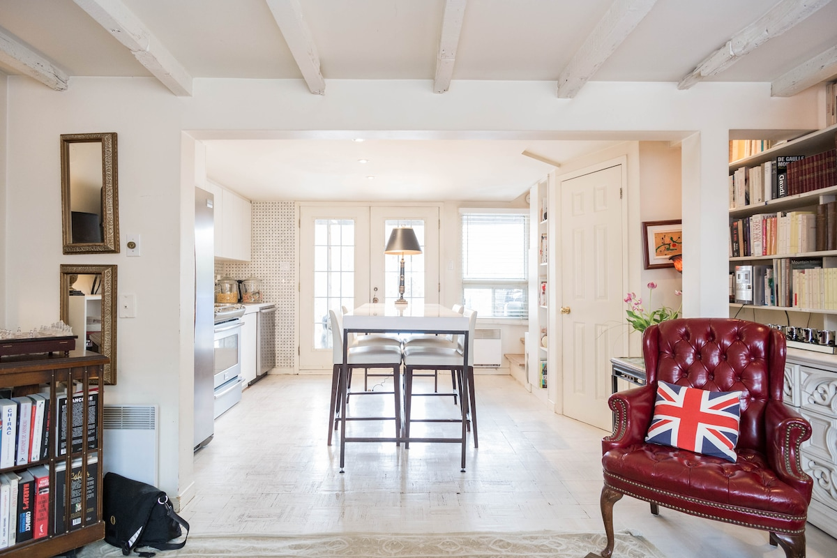 Le 1716 Plessis: oldworld-meets-new