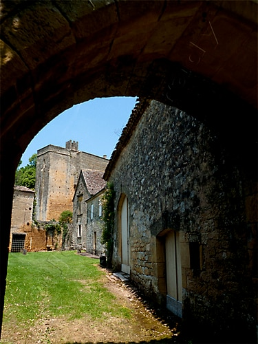 A view from le Donjon