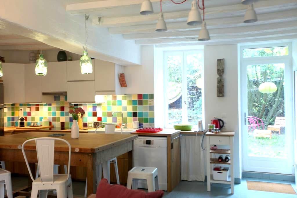 Maison douillette avec jardin - Mailly-la-Ville - House