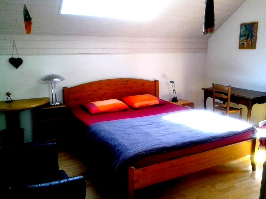 Double Room & Breakfast, St-Cergue - Saint-Cergue - Bed & Breakfast